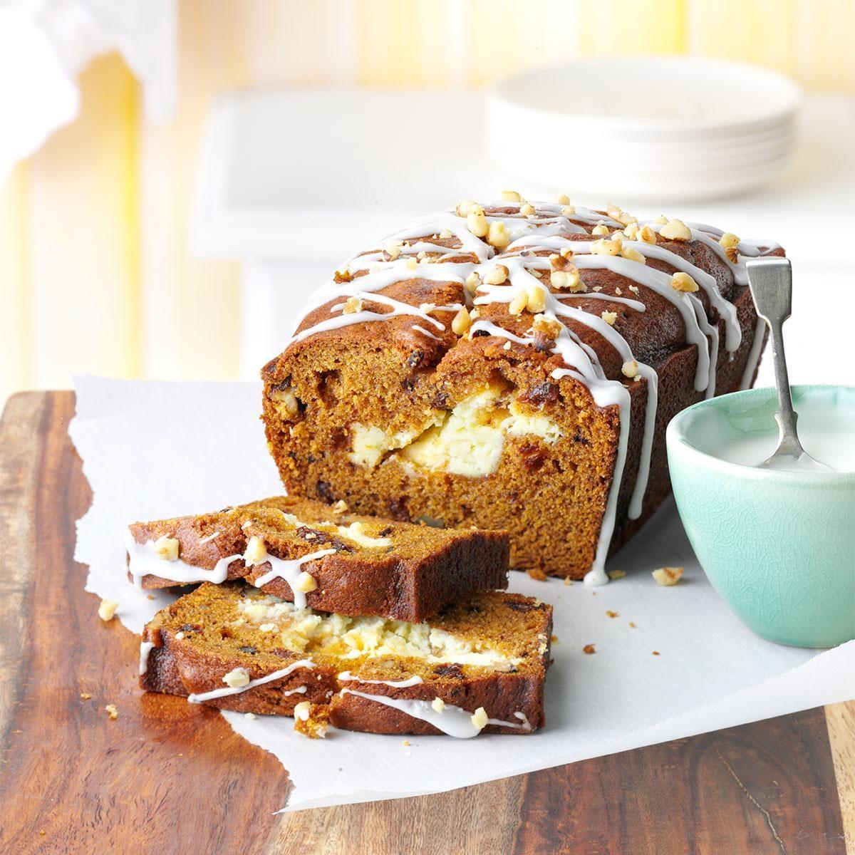 Pumpkin Swirl Bread Recipe Taste Of Home