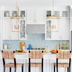 Kitchen Backsplash Photos Home Depot Range 8 Diy Peel And Stick Ideas Taste Of Trendy Blue Tile