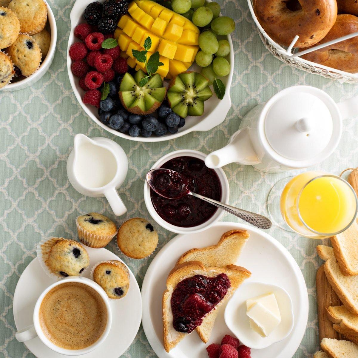 9 unhealthy breakfast foods