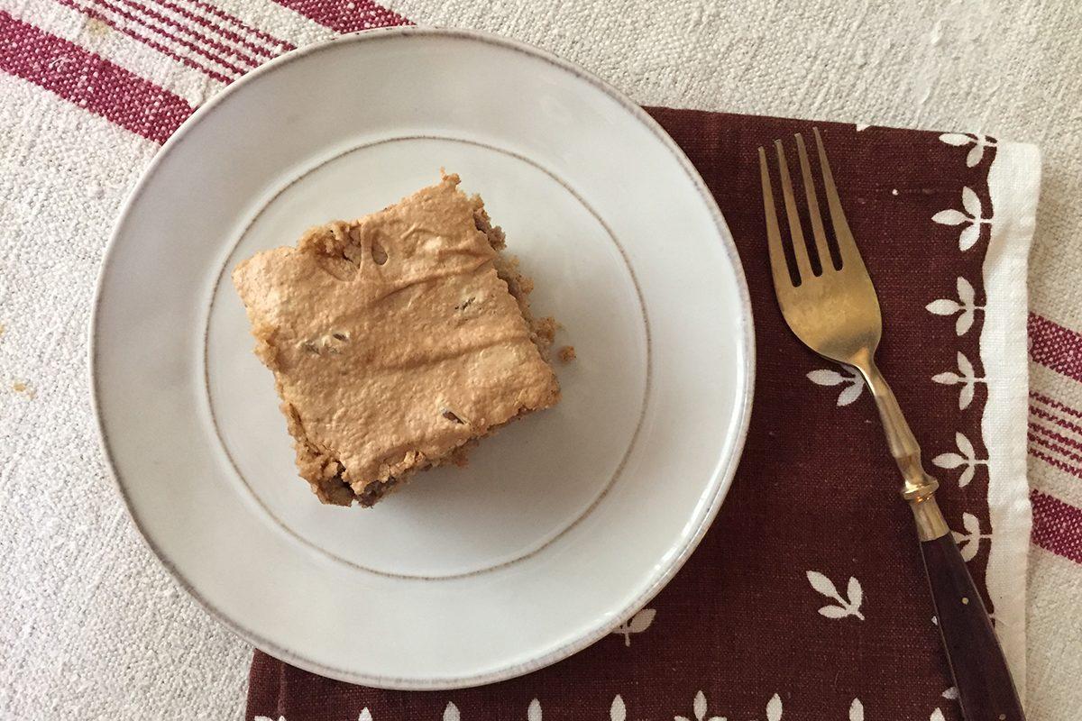 single spice bar on a plate