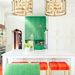 How To Decorate Your Kitchen Contemporary Faucets 12 Design Ideas Based On Zodiac Sign Taste Of Home With Bold Colored Cabinets And Chairs