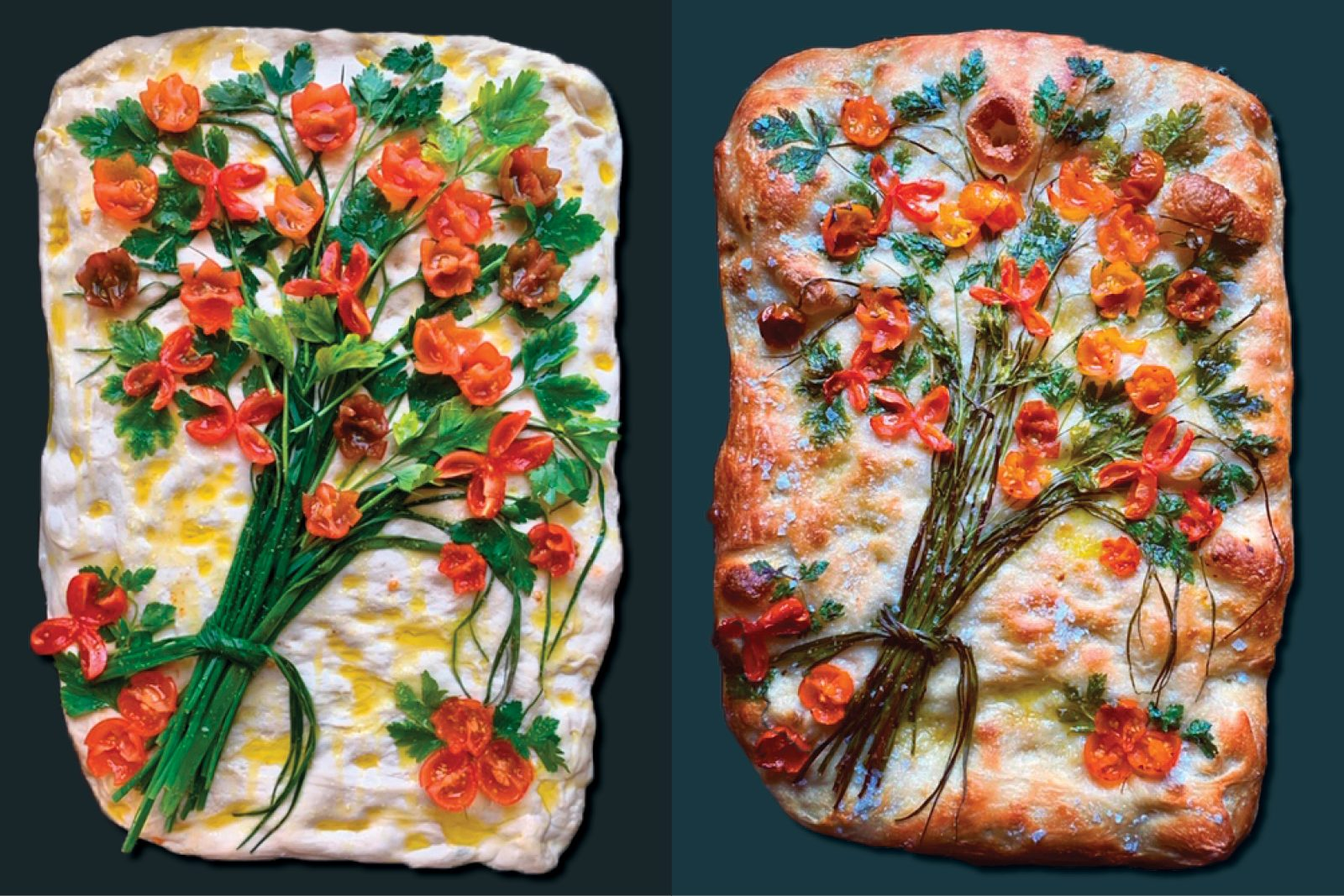 This Home Baker Tried Baking Botanical Focaccia Here S What Happened