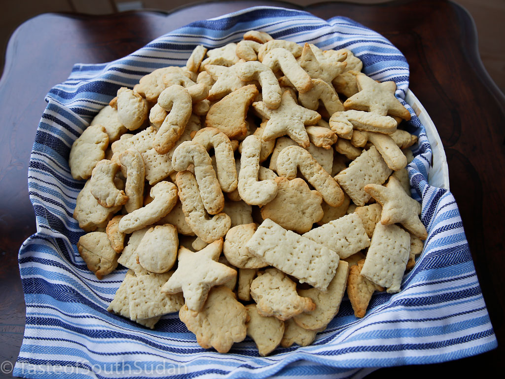 Christmas cookies, various shapes
