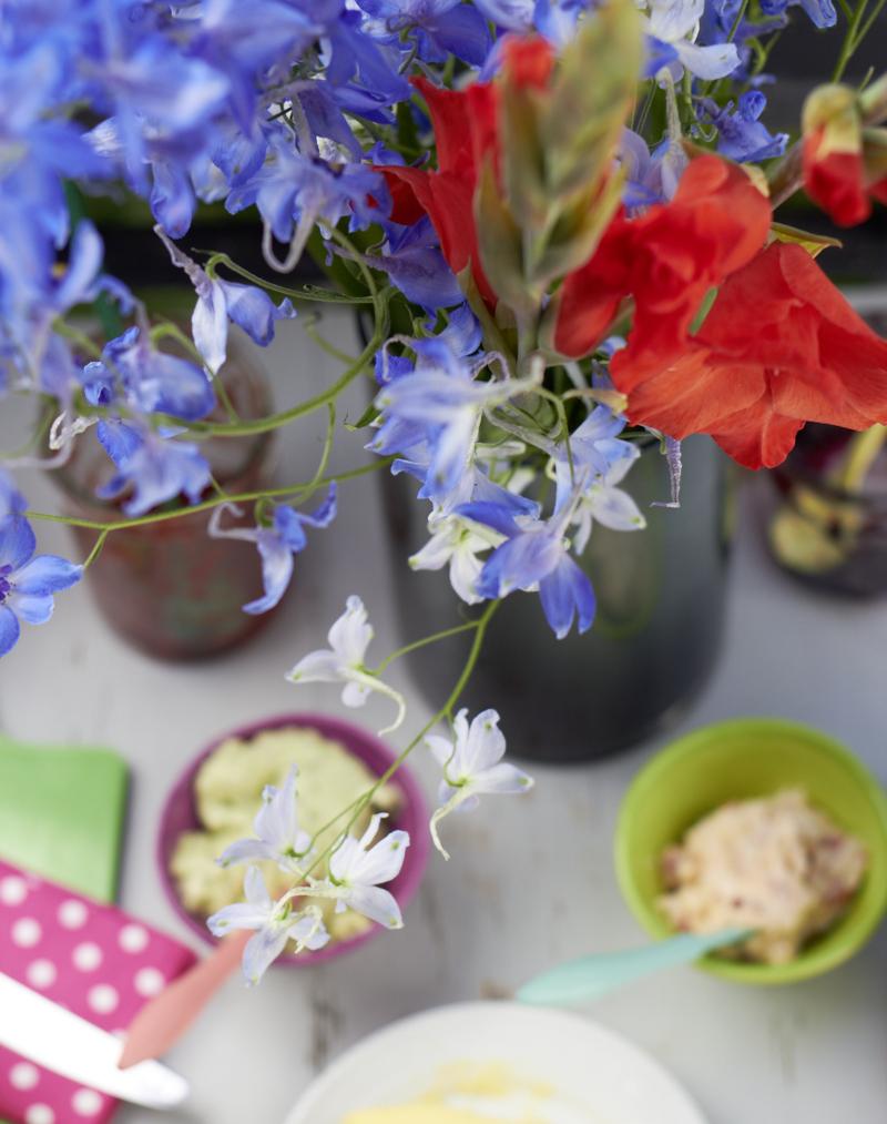 Claretti und die Blumen im August  tastesheriff