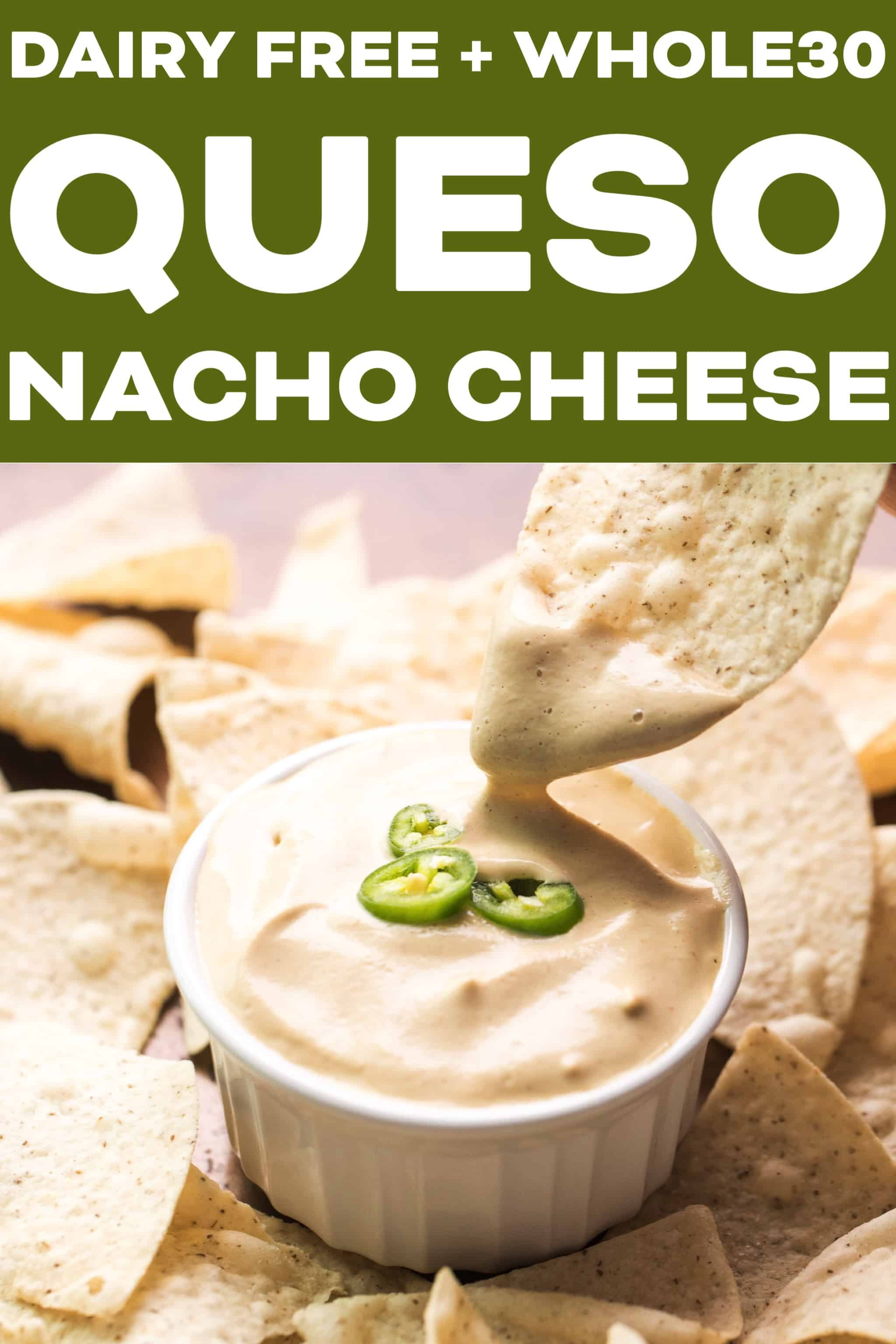 Whole30 + Dairy Free Queso Nacho Cheese - Tastes Lovely