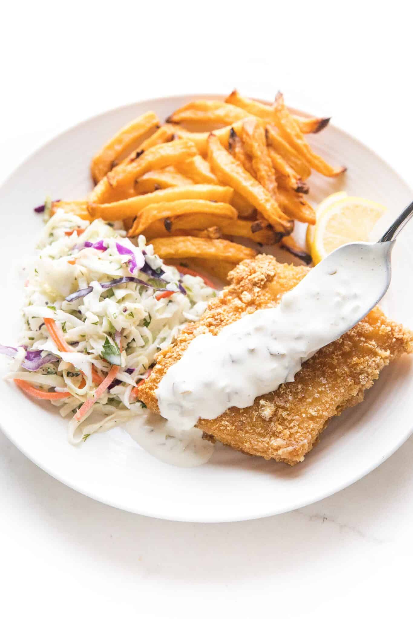 Keto Fish and Chips