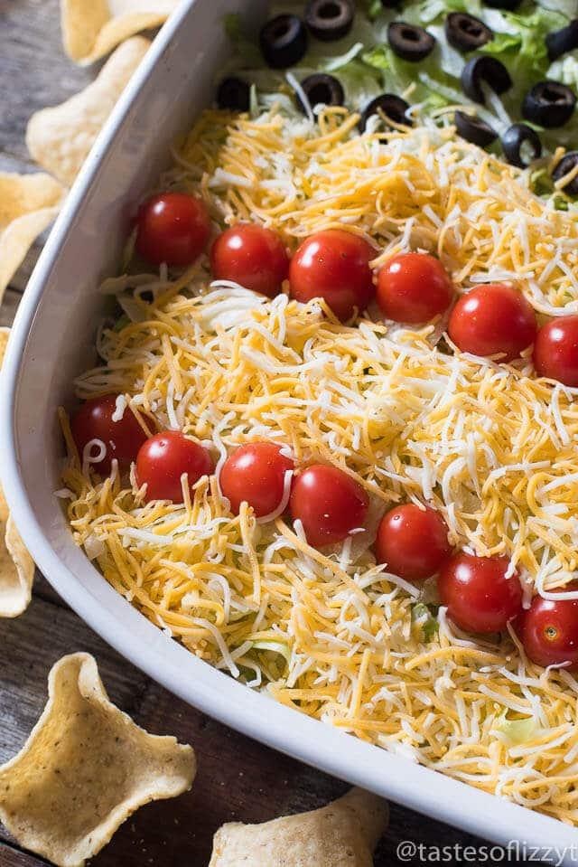 patriotic-easy-layered-taco-dip