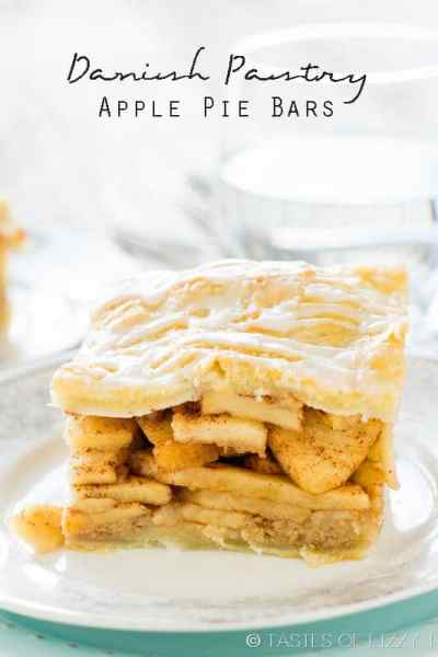 Danish Pastry Apple Pie Bars