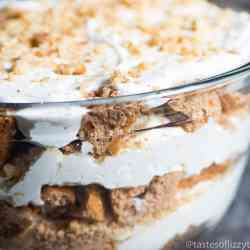 leftover carrot cake dessert