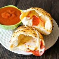 The secrets to making a pizzaria-perfect peperoni calzone.
