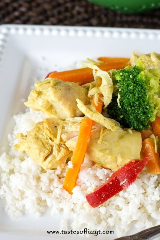 If you love comforting, creamy chicken dishes, you'll love this Paleo Coconut Ginger Chicken. It's made in your slow cooker and is grain free, dairy free and sugar free.