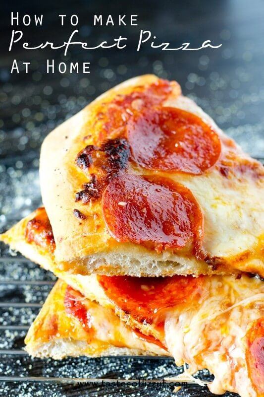 Find out tips and tricks for making the perfect pizza at home. Save money on delivery!