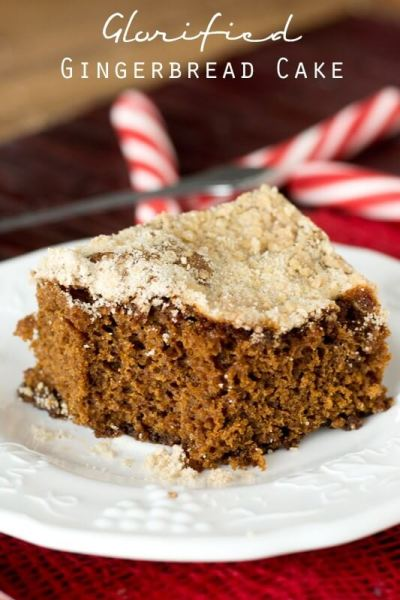 Glorified Gingerbread Cake