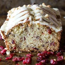 Cranberry Pecan Bread Recipe {Easy Bread Recipe Perfect For a Gift!}