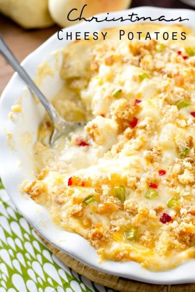 Christmas Cheesy Potatoes
