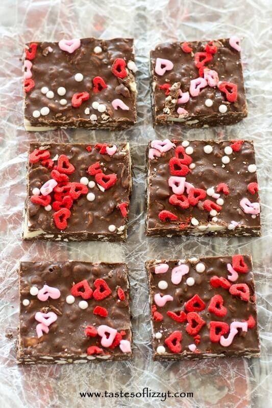 Triple Chocolate Crunch Bars - Tastes of Lizzy T