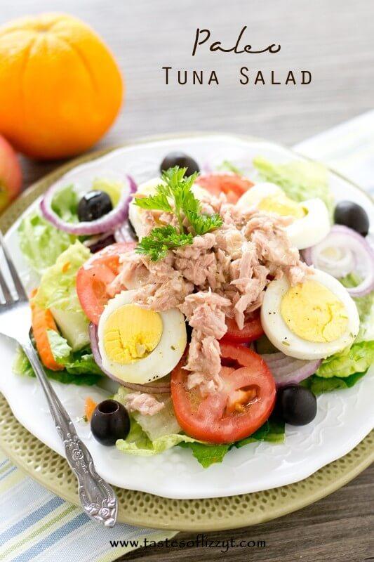 Paleo Tuna Salad - Tastes of Lizzy T