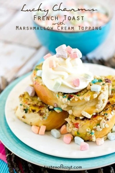 Lucky Charms French Toast