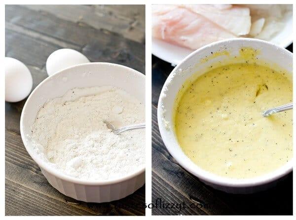Paleo Battered Fish Recipe - Tastes of Lizzy T