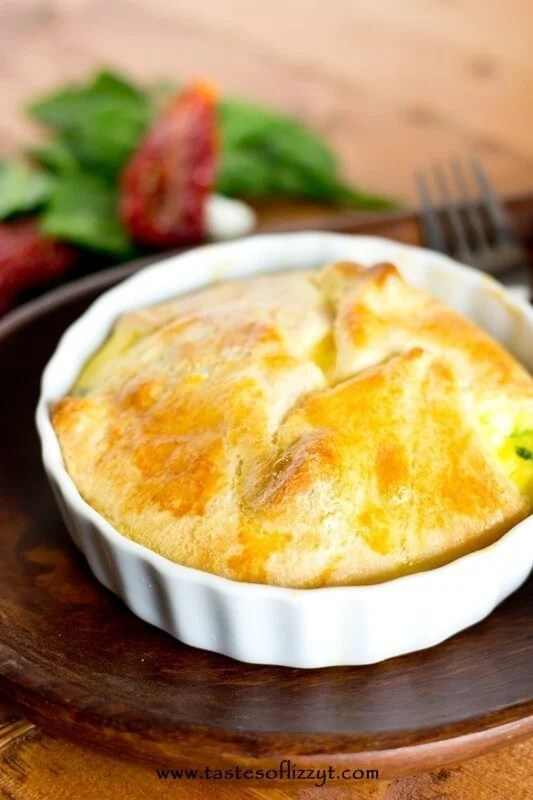 Roasted Tomato & Feta Egg Souffle - Tastes of Lizzy T 5