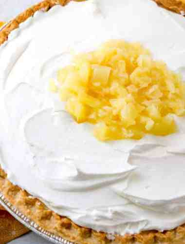 Amish pineapple pie recipe