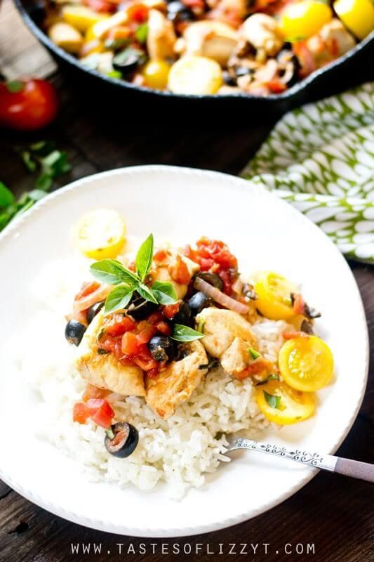 Best Mediterranean Diet Dinner Recipes Like One Skillet