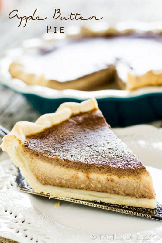 titled image (and shown): apple butter pie