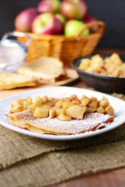 Apple Pie Crepes
