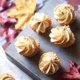 pumpkin cheesecake mini pies