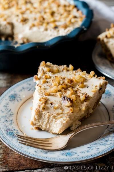 Maple Nut Pie