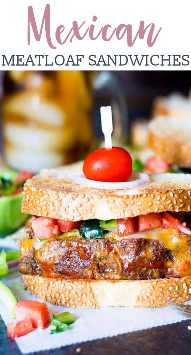 MEXICAN MEATLOAF SANDWICH