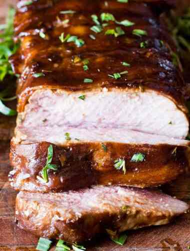the best roast pork loin marinade recipe with molasses and bacon