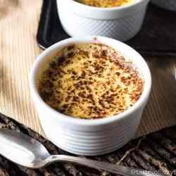 single serving baked custard