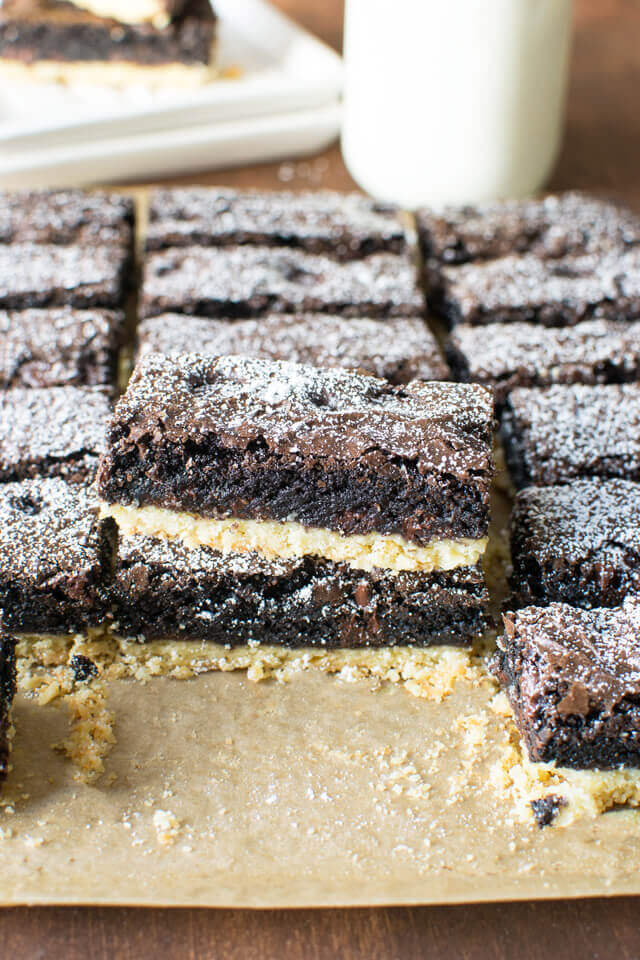 Brownie Pie Bars