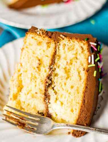Homemade Yellow Cake Recipe