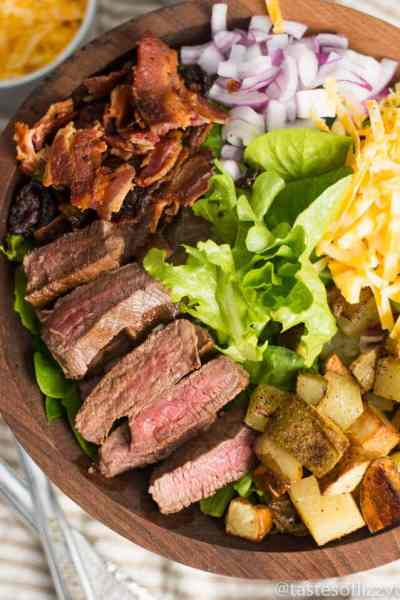 Steak and Potato Salad