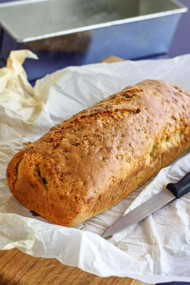 Walnut Cottage Cheese Bread