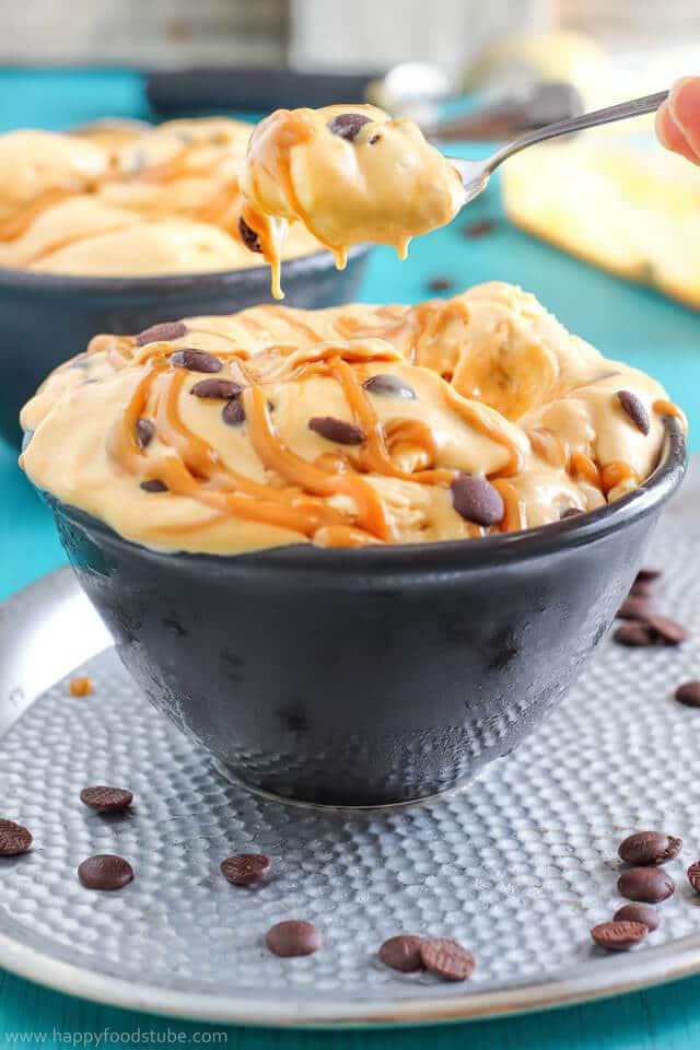 Dulce de Leche Chocolate Chip Ice Cream