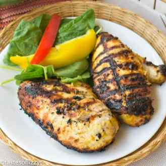 Garlic Mustard Chicken