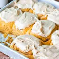 soft fluffy pumpkin pudding roll recipe