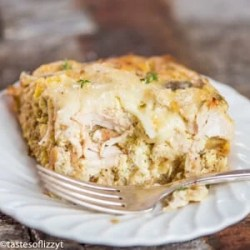 use leftovers to make a breakfast casserole
