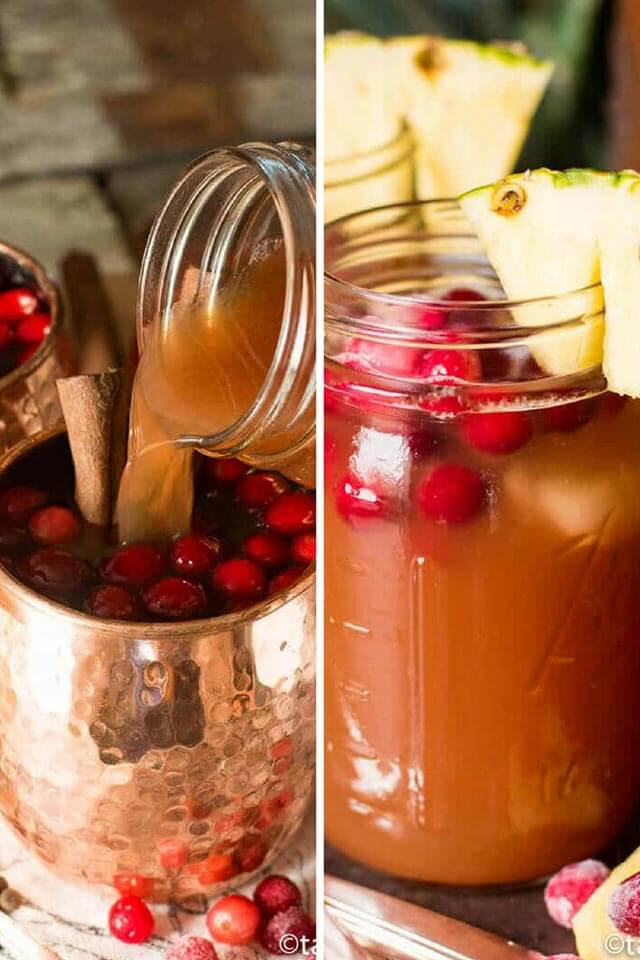 the best thanksgiving drink recipes