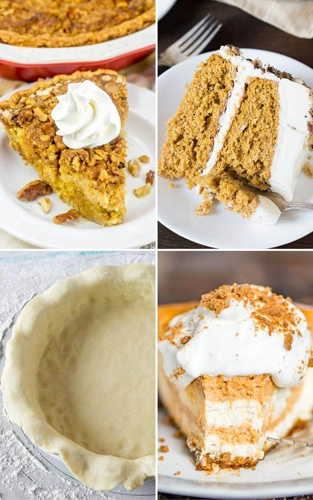 the best pumpkin desserts for thanksgiving