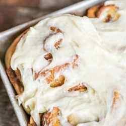 best cinnamon roll icing