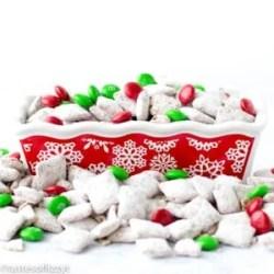 christmas puppy chow recipe