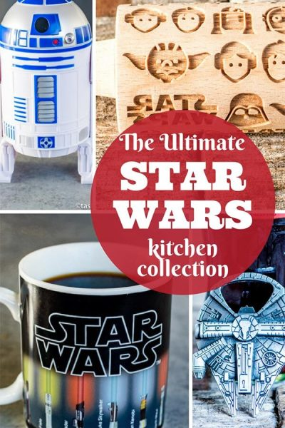 Star Wars Kitchen {The Ultimate Nerdy Kitchen Collection}
