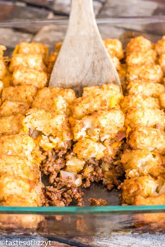 Cheeseburger Tater Tot Casserole Recipe Easy Family