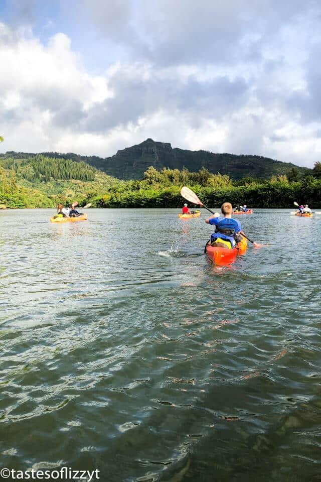 Wailea River Canoeing