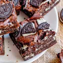the best homemade oreo brownies