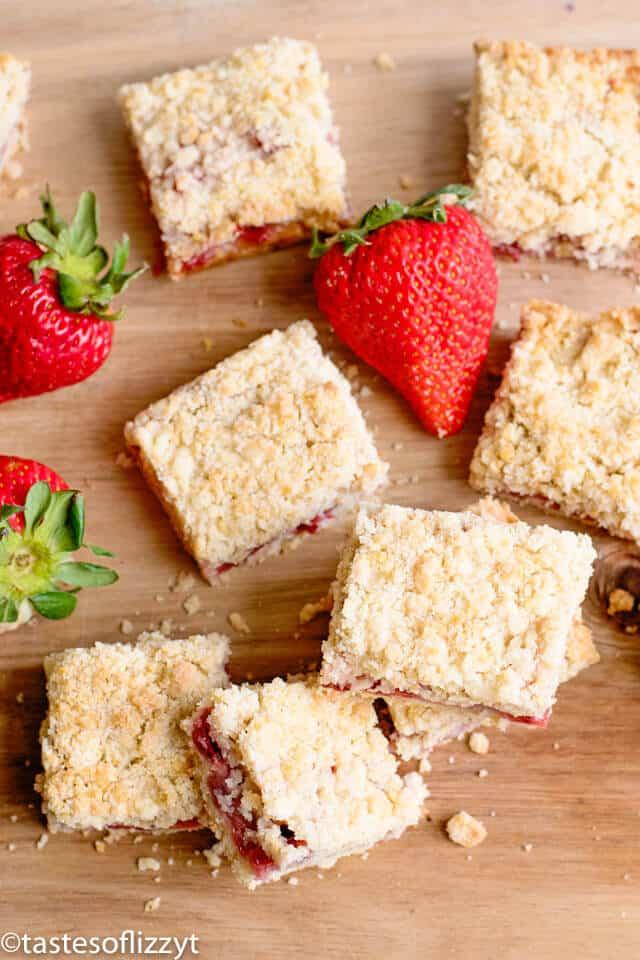 easy strawberry bar recipe